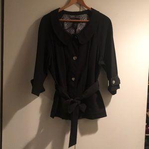 Black Lane Bryant Jacket